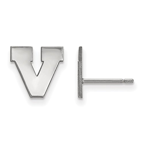 925 Sterling Silver Officially Licensed University College of Virginia Mini Small Post Earrings by Mia's Collection