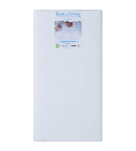 Bundle of Dreams Organic Flagship 2 Stage Crib and Toddler Bed Mattress, Breathable, Hypoallergenic, Dual Sided