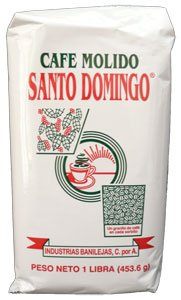 Cafe Molido Santo Domingo - Ground Dominican Coffee - (2 Lb.-pack)