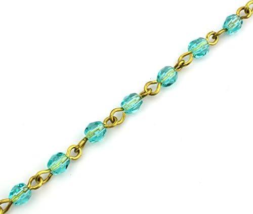 Peeper Keepers Czech Beads /& Chains w//Cloth /& Screwdriver Eyeglass Retainer