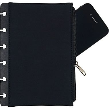 Staples? Arc Notebook Removable Zipper Pocket, 4 1/2