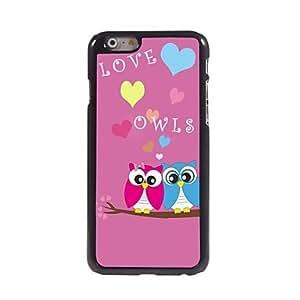 MOFY- estuche r'gido tierra rosada amorosa pares del bœho patr—n de aluminio para el iphone 6