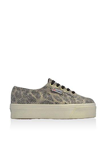 Superga Shoes Women's Fabric Snakeskin Metal Effect cheap store store cheap low price fee shipping 2bHs4TlKp