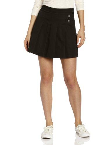 CLASSROOM Juniors Tab Pleat Scooter Skirt, Black, 13/14