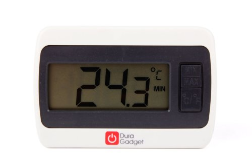 Twin Pack Indoor LCD Room Temperature Thermometer Gauge