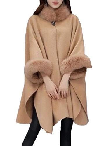 Fseason-Women Camel Wool Blazer 2019