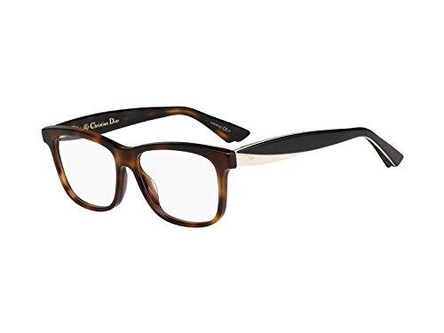 - Christian Dior Women's Eyewear Frames CD 3290 54 mm Havana Ivory Black LWG