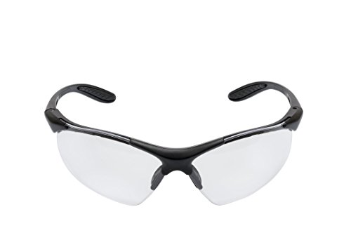 3M Virtua V6X01AF Protective Eyewear V6X, Clear Anti Fog Lens, Black Frame (Pack of 20)