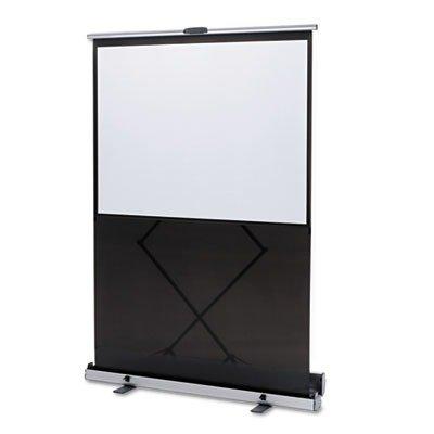 QUARTET MFG 980S Euro Portable Cinema Screen w/Black Carrying Case, 80quot; Diagonal