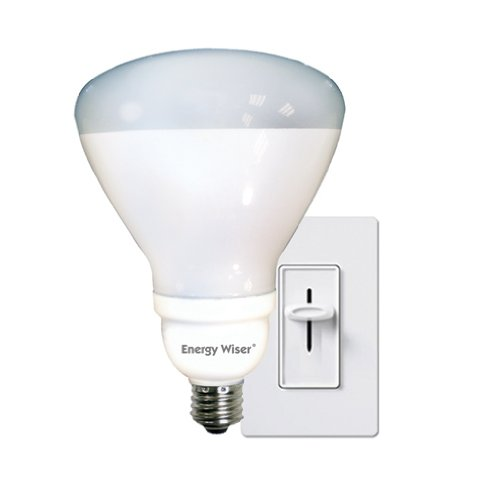 Bulbrite CF23R40WW/DM 23Watt Dimmable Compact Fluorescent R40 Reflector, Warm White ()