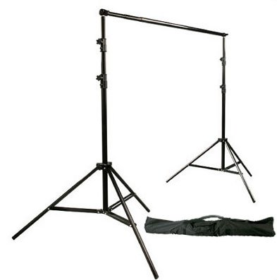 StudioFX New Photography Portable Backdrop Stand Kit Full Size adjustable with carrying bag by StudioFX