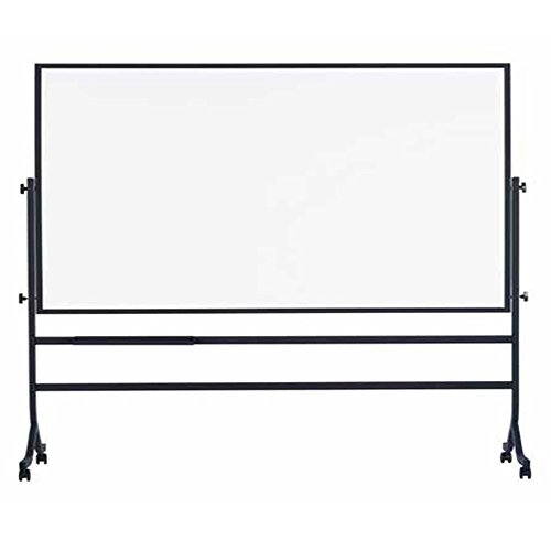 Marsh Contemporary Reversible 42x60 White porcelain markerboard both sides, Tuxedo Black electronic consumers