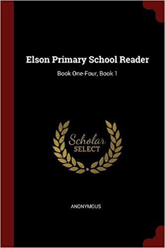 Book Elson Primary School Reader: Book One-Four, Book 1