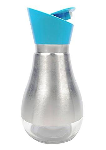 ARKTek 11oz. Toughened Glass 304 Stainless Steel Plastic Olive Oil