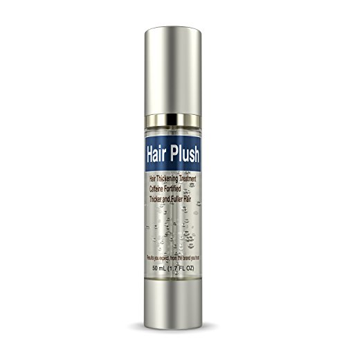 Ultrax Labs Hair Plush | Lush Caffeine Hair Loss Hair Growth Thickening Treatment Formula - Boosting Spray Gel