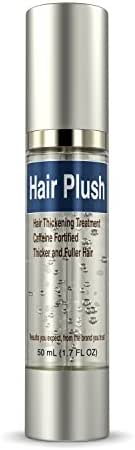 Ultrax Labs Hair Plush | Lush Caffeine Hair Loss Hair Growth Thickening Treatment Formula Serum