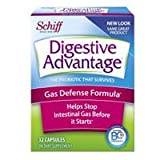 Digestive Advantage Gas Defense Probiotic, 32 Capsules (Pack of 4)