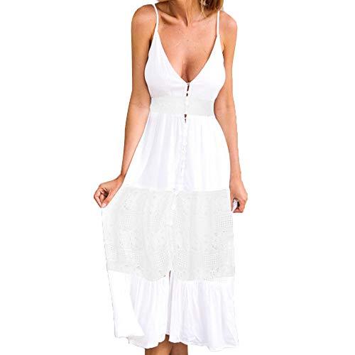 Boho Long Summer Maxi Dress Women Evening Party Beach Dresses Sundress