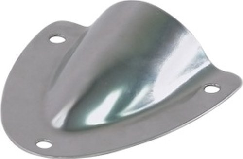 2-Pack,1-3//4 Amarine Made 2 PCS Stainless Steel Clamshell Vent//Wire Cover Clam Shell Vent for Boat