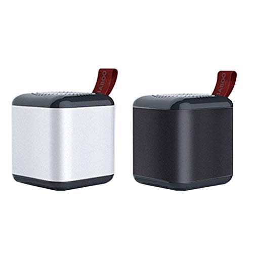 NOMENI Super Mini Bluetooth Speaker with Carabiner Support 3 Interconnections for Outdoor Runing Hiking - Lcd Super Speakerphone