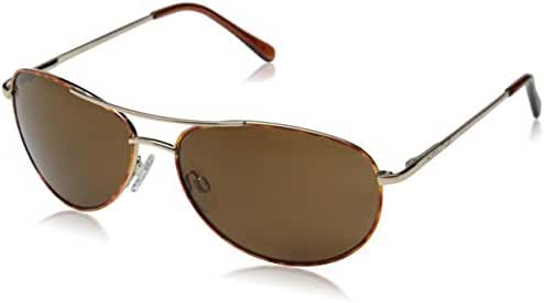 Suncloud Optics Patrol Metal Alloy Frames Polarized Outdoor Sunglasses - Brown/Brown