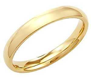Wedding Ring Bands Yellow Gold