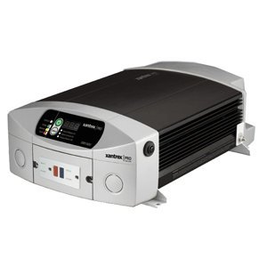 Xantrex 806-1010 Model XM 1000 Pro Series 12V Power Inverter; 1000W inverter easily powers TVs, small appliances, and other electronics; Built-in 15A circuit breaker to protect GFCI connected loads