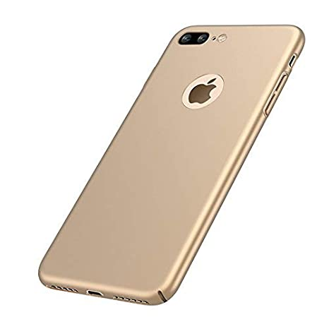 VELLYOU [2-en-1] iPhone 8 Plus Funda + Regalo [Protector de Pantalla] , Carcasa 360°Protegido Case Cover para Apple 8 plus , 5.5