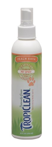 Tropiclean Peach Kava Pet Cologne, 8 Ounce, My Pet Supplies