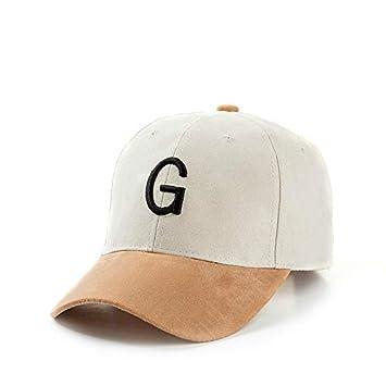 GMZXX Gorra de Beisbol 2018 Moda de algodón Caliente Bordado Letra ...