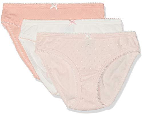 Petit Bateau Girl's Panties - Set of 3 Sizes 2-12 Style 48004 (Size 3 Style 48004 Girls)