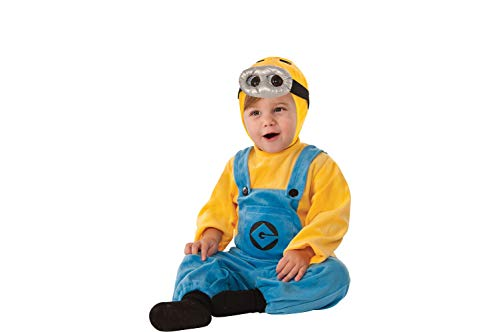 RUBIE'S COSTUME CO Despicable Me 2 Dave Minion Costume for Infants, 12-24 Months, with Included Accessories -