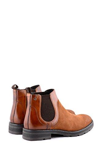 Base London Heren Patton Suede Boots Tan