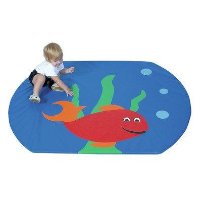 Children's Factory Fish Bowl Activity Mat For Sale