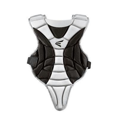 Easton Youth Black Magic Chest Protector, Black/Silver