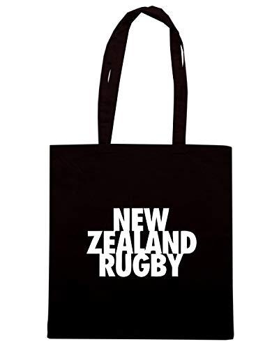 Speed Shirt Borsa Shopper Nera TRUG0149 RUGGERS NEW ZEALAND RUGBY