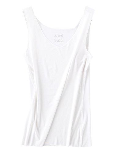 Alizeal - Chaleco - Sin mangas - para mujer blanco