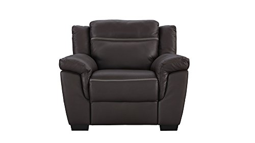 Amalfi Brown Leather Power Motion Reclining Chair  sc 1 st  Amazon.com & Genuine Leather Recliner: Amazon.com islam-shia.org