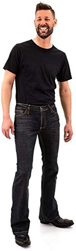 Bootcut Roots dżinsy męskie: Odzież