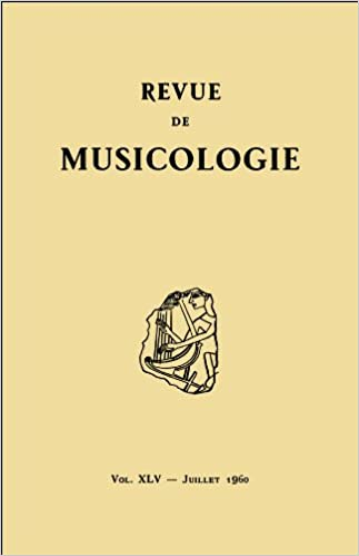 Livre gratuits en ligne Revue de musicologie tome 45, n° 1 (1960) epub, pdf