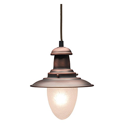 ELK Lighting Railroad 1-Light Pendant - 7W in.