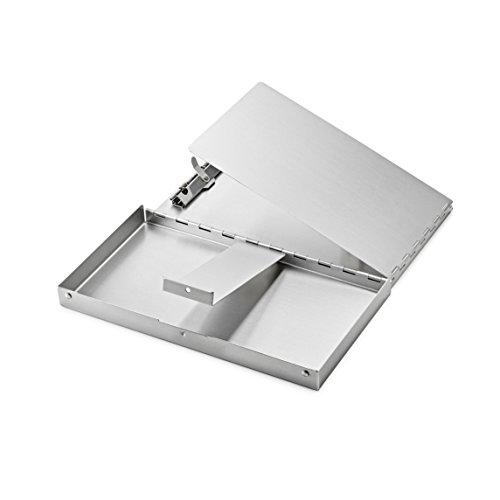 AdirOffice Aluminum Snapak Form Holder - Clipboard (10