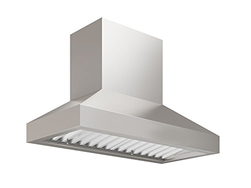 "Price comparison product image Ancona AN-1139 Pro Series 775 CFM Ducted 30"" Wall Mount Range Hood, Silver"