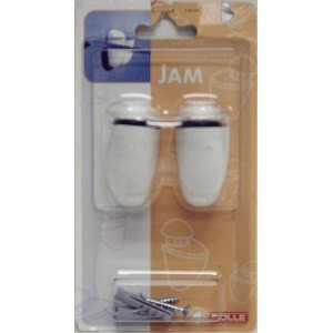 Dolle Jam 3/16 in. - 3/4 in. Adjustable Opening Shelf Support in White