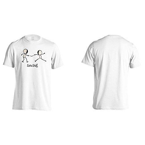 Fechten sport lustig komisch neu Herren T-Shirt g169m