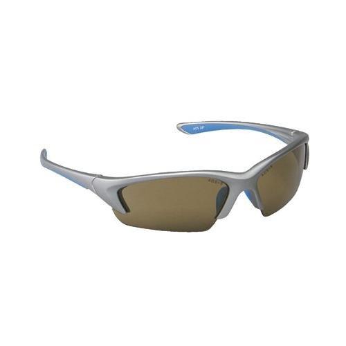 Ao Safety - Nitrous Saftey Eyewear Nitrous Metallic Silverframe Bronze Lens: 247-11712-00000-20 - nitrous metallic silverframe bronze lens by AOSafety