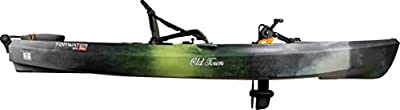 01.4063.0102 Scubapro Old Town Topwater 120 PDL Angler Fishing Kayak (First Light) by Old Town Canoes & Kayaks