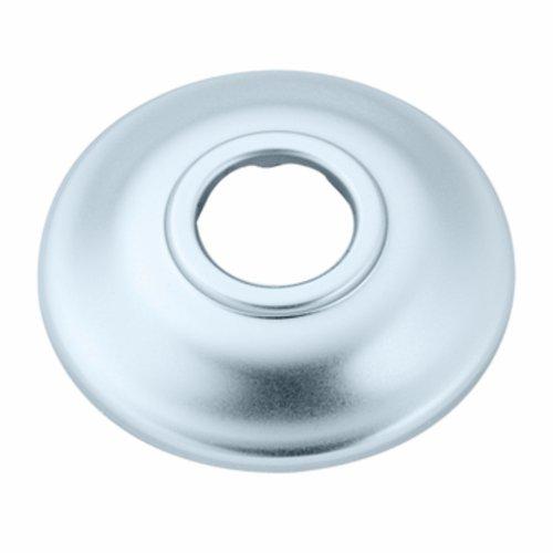 (Moen AT2199SLP Shower Arm Flange, Brushed Platinum)