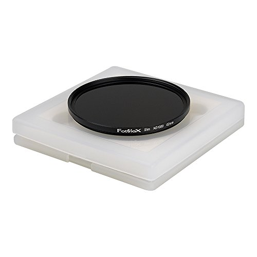 Fotodiox Pro 62mm 10-Stop Neutral Density Slim Filter (ND1000) - Full-Size - Black - FDXPro-ND1000-62mm