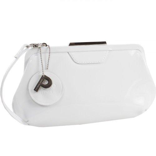 Picard Auguri Damentasche Leder 26 cm weiß - lack